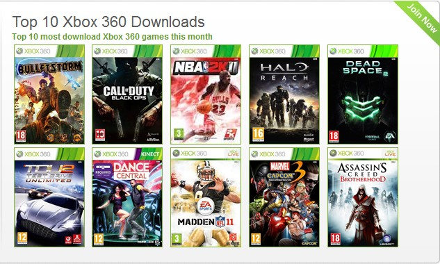 games blog: best xbox360 games